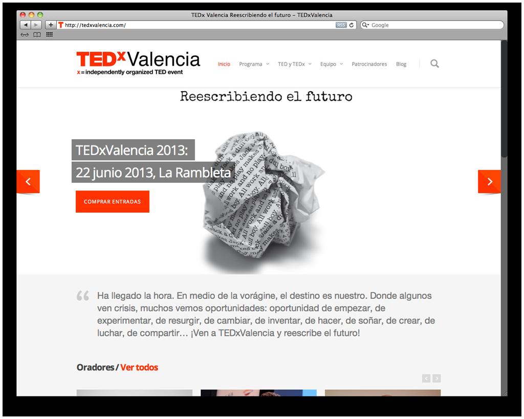 Robotito TEDxValencia