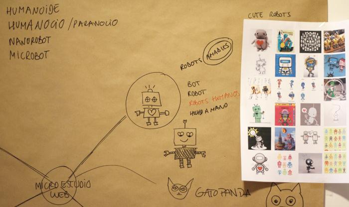 Moodboard robotito.es